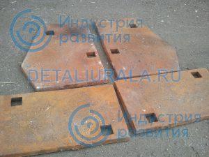 Клинья футеровки СМД-116