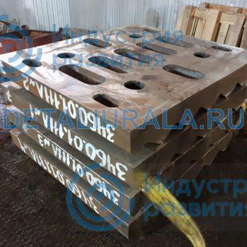 Плита дробящая подвижная СМД-117