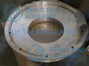Подпятник сферический КСД-900 СМД-120 бронза