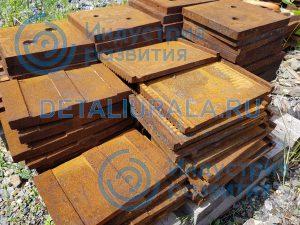 Плиты дробящие ДЛЩ 80 x 150
